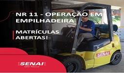 NR-11 OPERAÇÃO DE EMPILHADEIRA