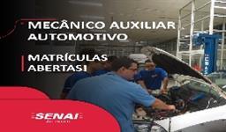 MECÂNICO AUXILIAR AUTOMOTIVO
