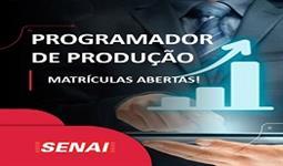 PROGRAMADOR DE PRODUÇÃO