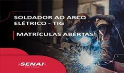 SOLDADOR AO ARCO ELÉTRICO - TIG
